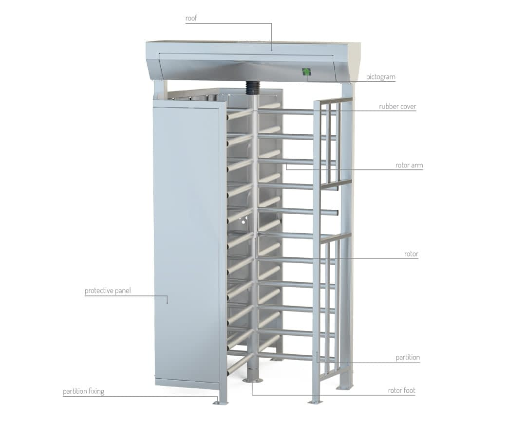 description turnstile ba3-1-s